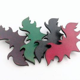 Haarspange Fledermaus Haarclip verschiedene Farben Bat Nachtschwärmer
