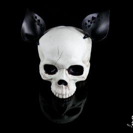 Ohren Öhrchen Clip Ear Hairclip Katzenohren schwarz mit Herzchen Herz