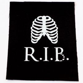 Patch Aufnäher RIP RIB Rippen