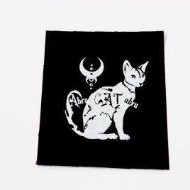 Patch Aufnäher Katze Abra Cat Abra