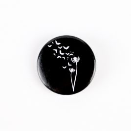 Button Pin Fledermaus Pusteblume 25mm