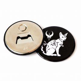 Flaschenöffner Magnet Abra Cat Abra Katze 59mm