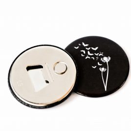 Flaschenöffner Magnet Fledermaus Pusteblume 59mm