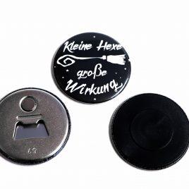 Flaschenöffner Magnet Kleine Hexe große Wirkung (59mm)