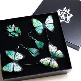 Schmuck Geschenkset Schmetterling – verschiedene Farben