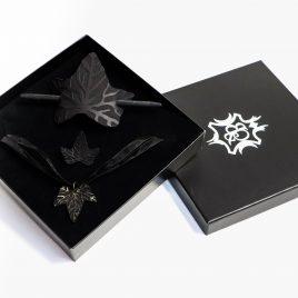 Schmuck Geschenkset Black Ivory Efeu