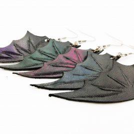 Flügelohrring Ohrhaken Fledermausflügel