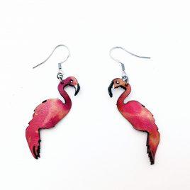 Flamingo Ohrringe Flamingoohrringe pink