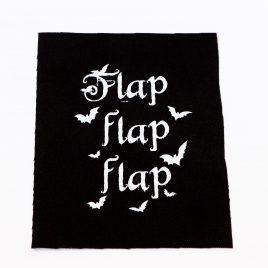 Patch Aufnäher Fledermaus Flap Flap Flap