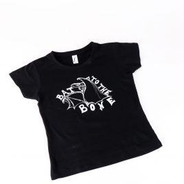 Kindershirt schwarz Bat to the Bone