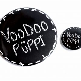 Button Pin Voodoo Püppi 25mm oder 59mm