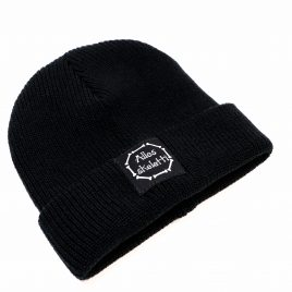 gothic alternative Beanie Mütze Alles skeletti schwarz
